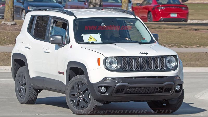 Jeep Renegade Phev Is About To Begin Production Fiat Chrysler Says With Images Jeep Renegade Jeep Chrysler