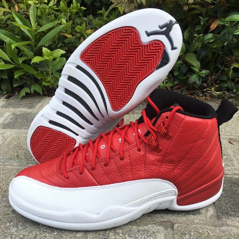 best website a6edd 59780 Nike Air Jordan Retro XII 12 ALTERNATE Gym Red White Cherry 130690-600…