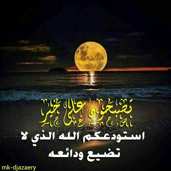 تصبحون على خير وواقع أجمل إن شاء الل ه Good Night Quotes Picture Quotes Beautiful Gif