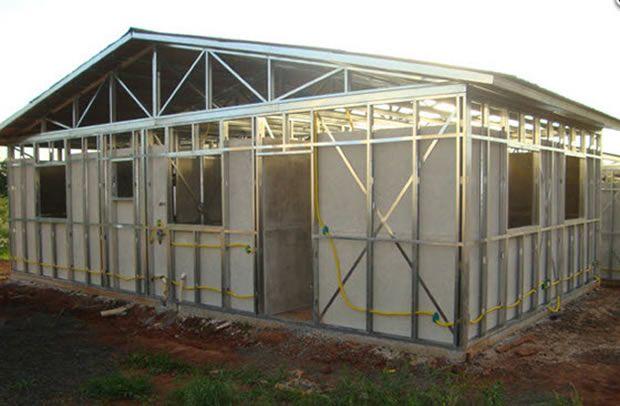 steel frame um sistema de construes em quadros de ao leve geralmente se refere
