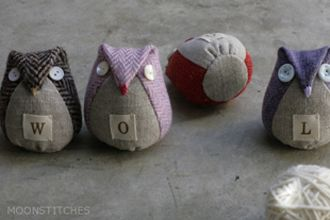 Readers' Favorite Tutorials Part 3 « Sew,Mama,Sew! Blog. Could be a cute pincushion!
