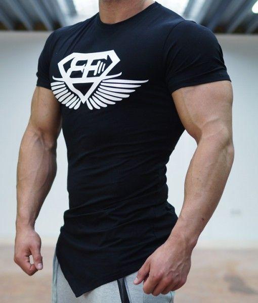 Men/'s Body Modal Basic Cotton Short Sleeve Crew Neck Gym Athletic T-Shirt