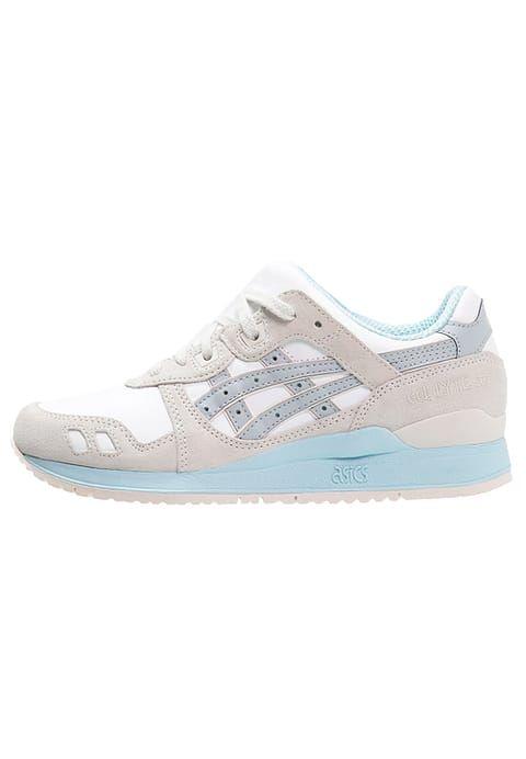 4bf2fb62b7903 Chaussures ASICS GEL-LYTE III - Baskets basses - white light grey beige   125,00 € chez Zalando (au 06 01 17). Livraison et retours gratuits et  service ...