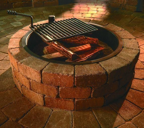 How To Decorate Garden Brick Wall 5 Ideas To Make It: Best 25+ Fire Ring Ideas On Pinterest