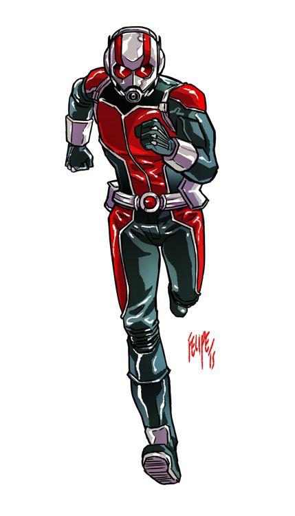 Ant-Man by FelipeSmith.deviantart.com on @DeviantArt | Marvel Comics ...