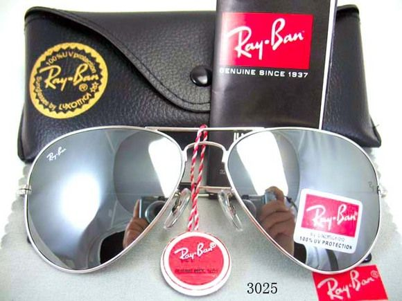 ray ban aviator mirror 3025