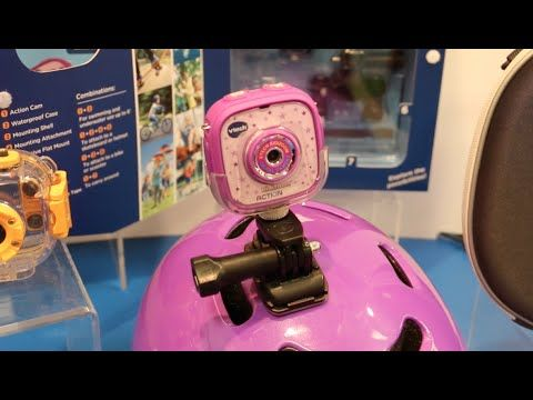 NEW Vtech Kidizoom Action Cam | What's New 2015 | Gopro, Action
