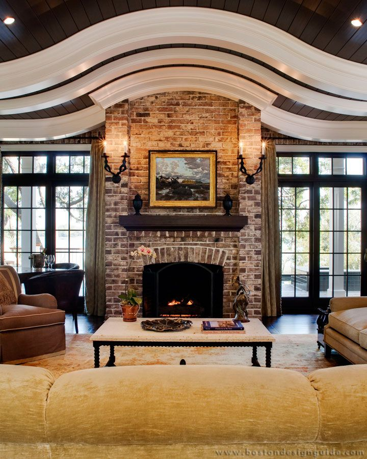 Morehouse Macdonald & Associates  High End Architects In Stunning Living Room Boston Design Review