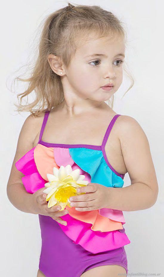 e6bb638bf3 mallas niñas - Buscar con Google | fácil | Pinterest | Kids swimwear, Bath  girls and Girls swimming