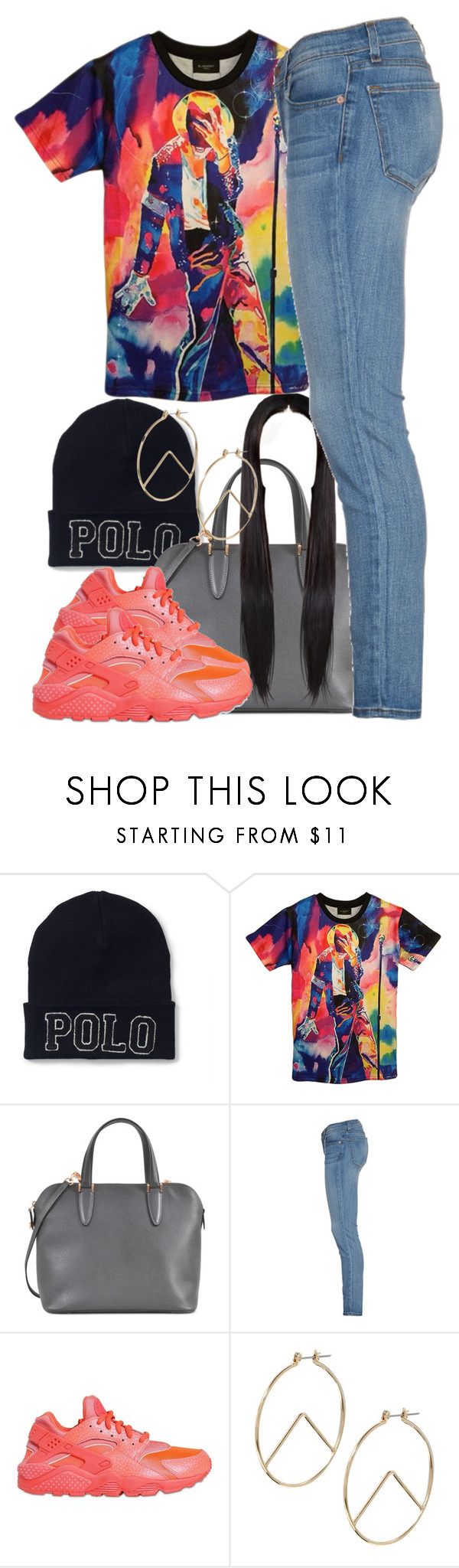 """Untitled #729"" by cjasmyne ❤ liked on Polyvore featuring Ralph Lauren, Valextra, J Brand, NIKE and ASOS"