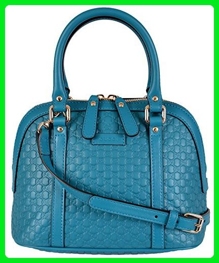 12b8b2b4300 Gucci Women s Micro GG Leather Convertible Mini Dome Purse (Cobalt Blue) -  Crossbody bags ( Amazon Partner-Link)