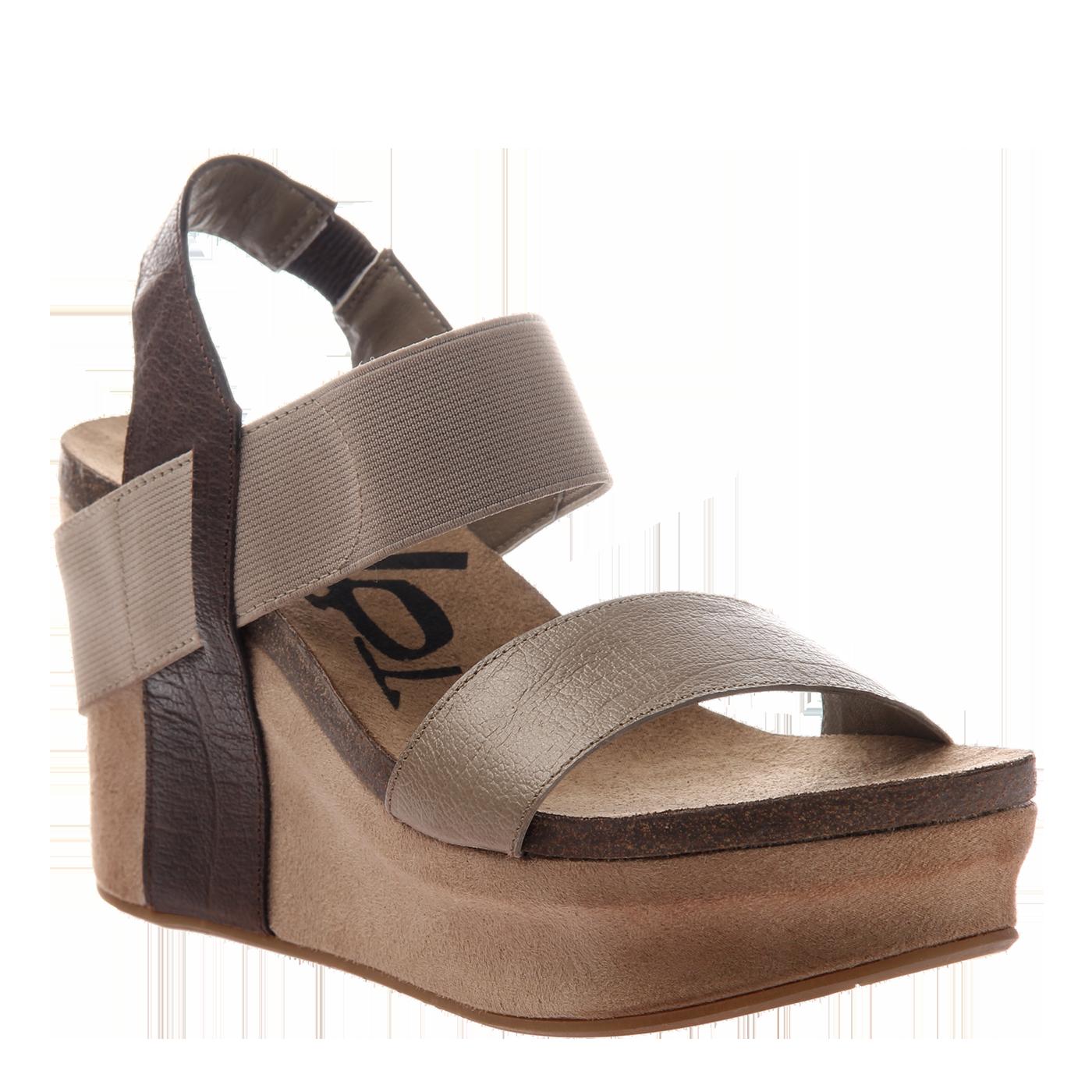 fdf28ff77 BUSHNELL in COFFEEBEAN Wedge Sandals