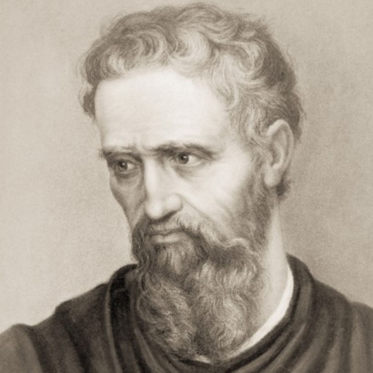 Michelangelo Buonarroti - most famous painters