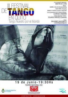 III Festival de TANGO en Quito