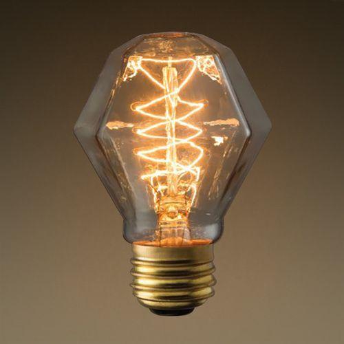 Bulbrite Nos40 Gem 40w T8 Antique Gem Spiral Filament Medium Base Specialty Light Bulbs Antique Light Bulbs Light Bulb