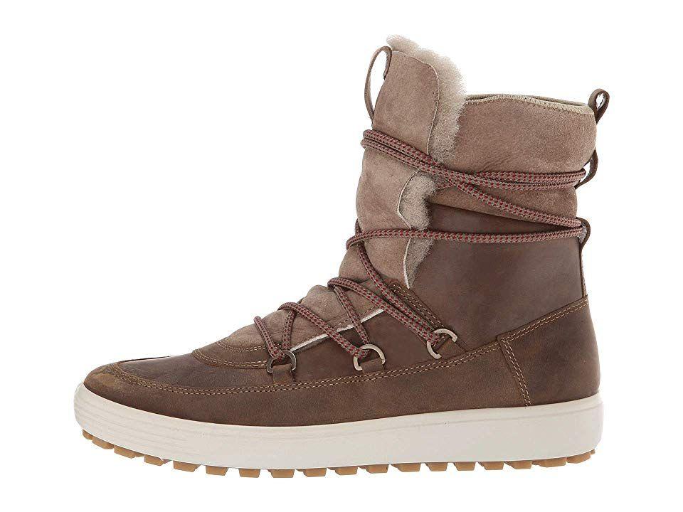 ECCO Soft 7 Tred Mid Women's Shoes Navajo BrownMoon Rock
