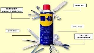 Propiedades del lubricante WD 40 Increible Video - YouTube