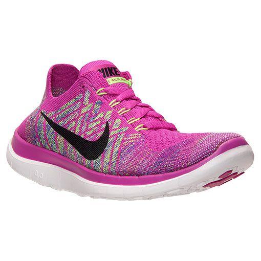 3483e7cc2ed52 Women s Nike Free 4.0 Flyknit Running Shoes - 717076 500