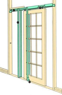 COBURN H30 Hideaway pocket door kit complete doors up to 762mm (30 ) wide | eBay  sc 1 st  Pinterest & COBURN H30 Hideaway pocket door kit complete doors up to 762mm (30 ...