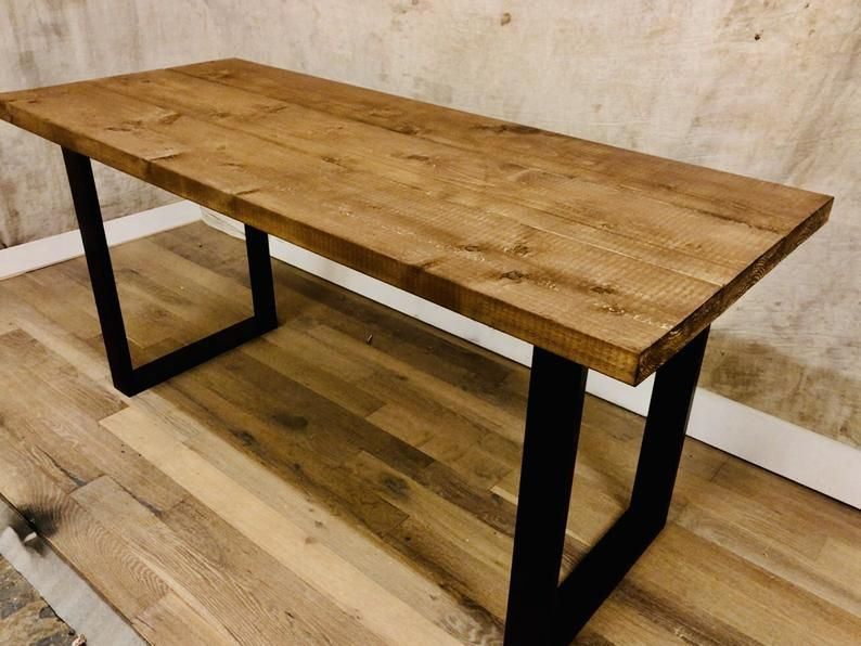 19++ Chunky oak dining table and bench Ideas