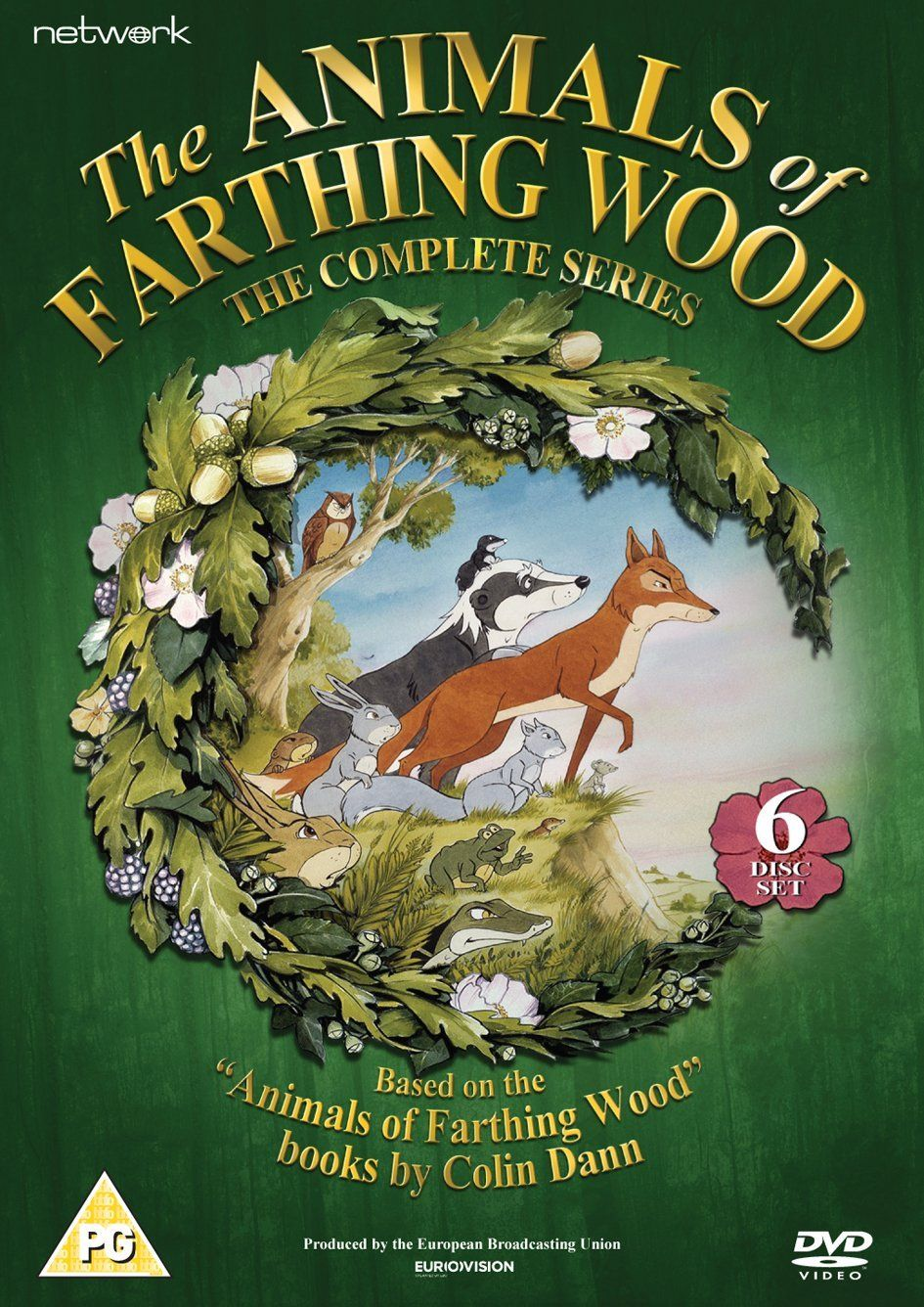 The Animals of Farthing Wood The Complete Series DVD