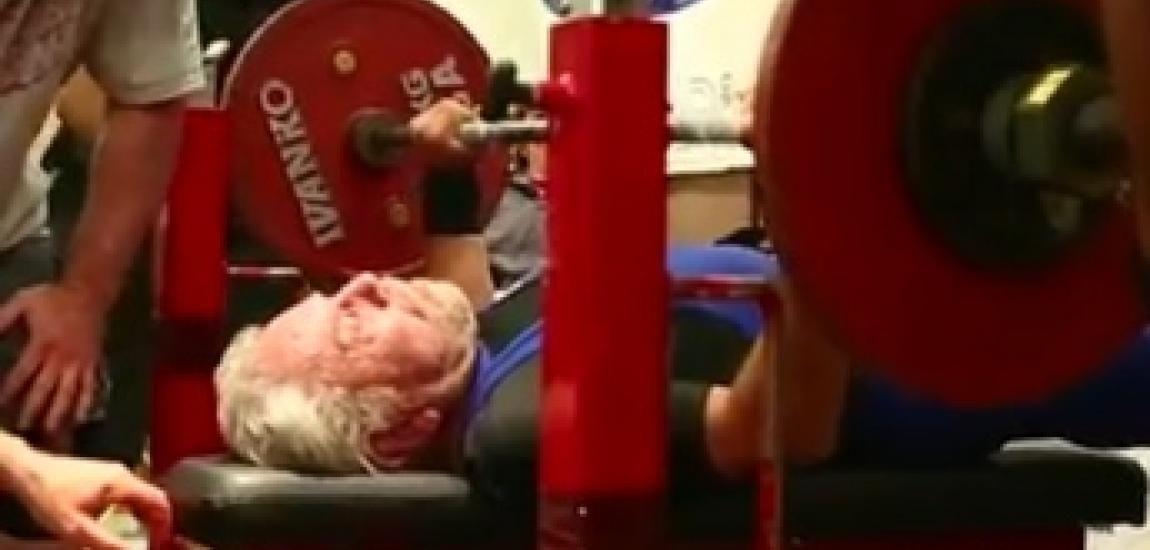 91 Year Old Sets Bench Press World Record World Records Bench Press World