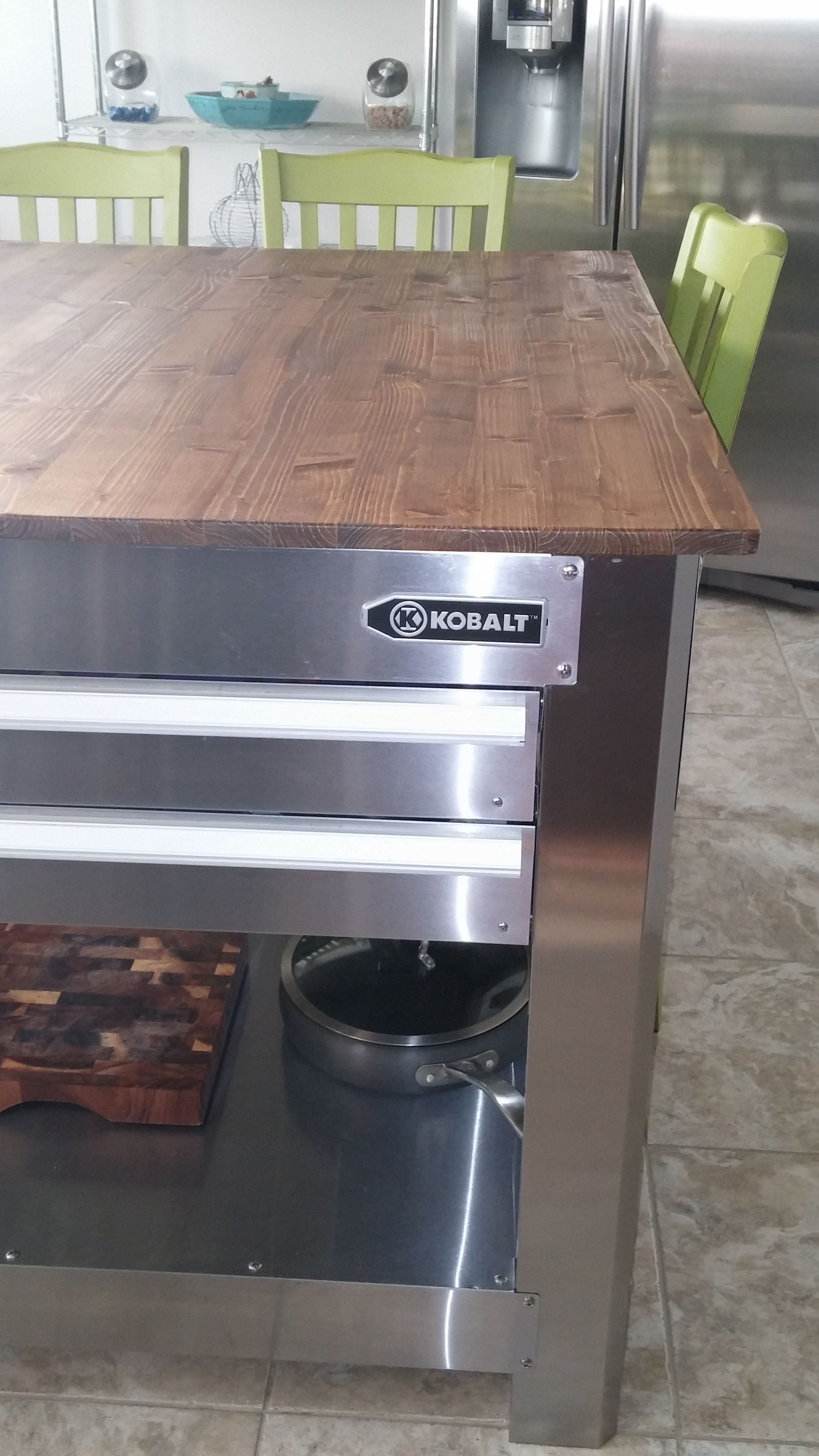 Yes It Is A Tool Box Kitchen Island Ideas Kitchen Furniture