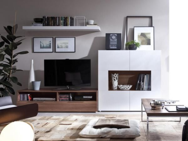 Living Rooms · Rimobel Contemporary TV Unit And 2 Door Cabinet Combination  In 8 Finish Options   See More