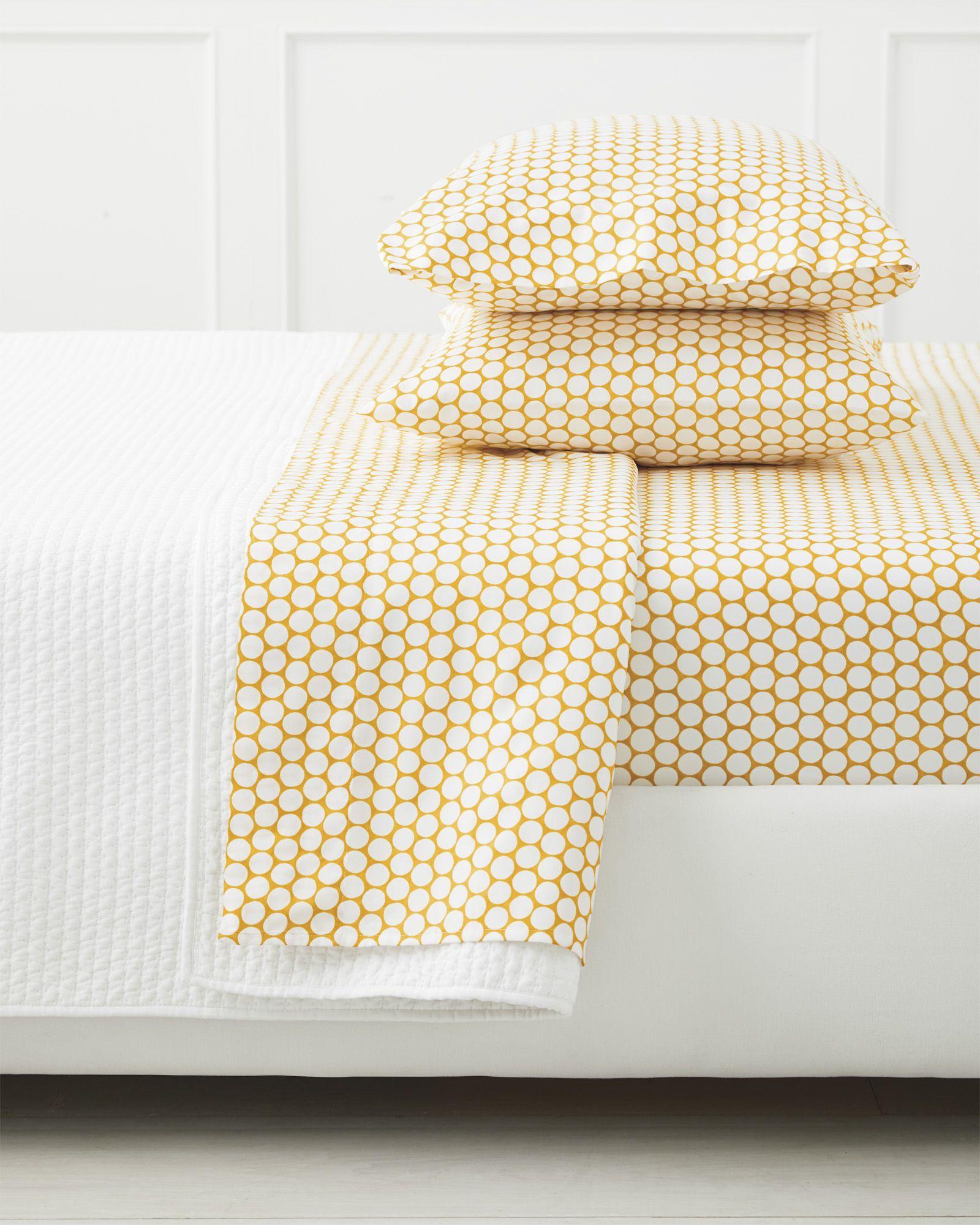 - Add A Splash Of Color To The Master Bedroom Color Dot Sheet Set