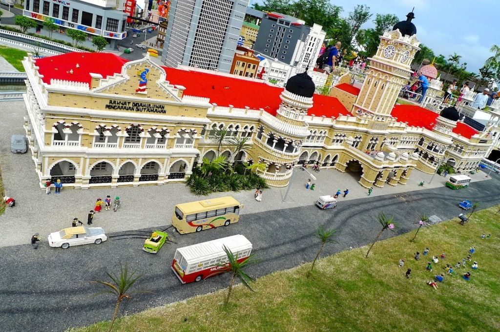 The Sultan Abdul Samad Building at Legoland Malaysia (With ...