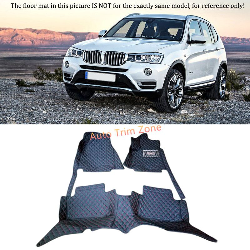 Interior Floor Mats Carpets Foot Pads For Bmw X3 F25 2011 2014