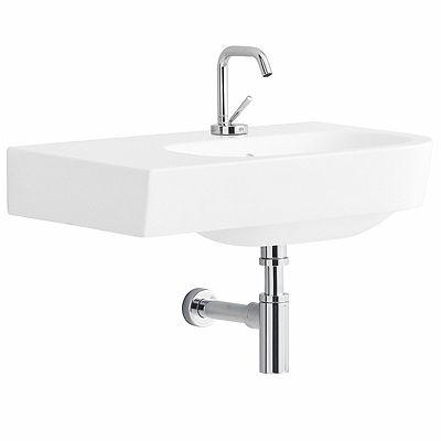 lavabo asimmetrico 65 sinistro Quinta – lavabi - Pozzi Ginori ...