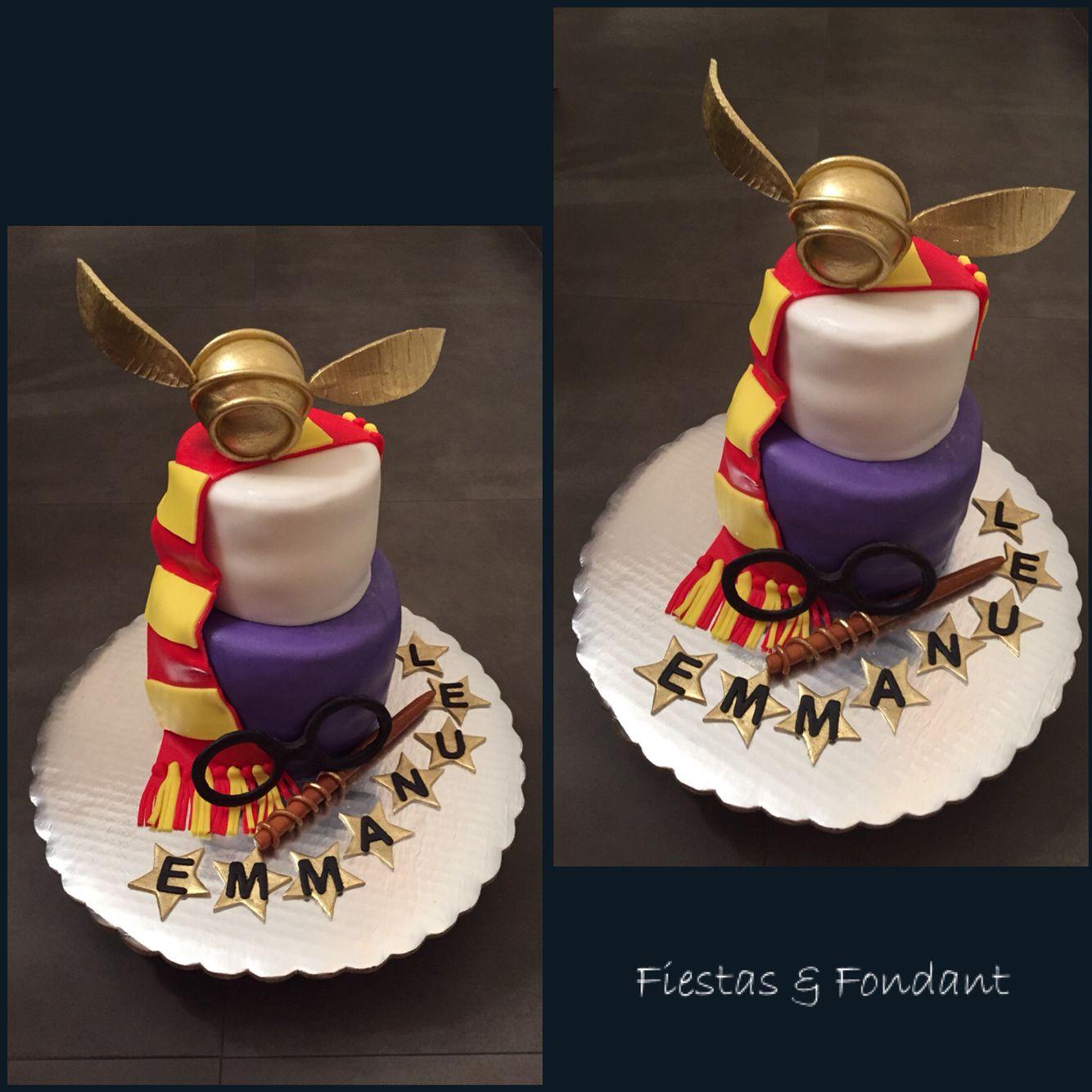 Harry Potter cake by Fiestas & Fondant