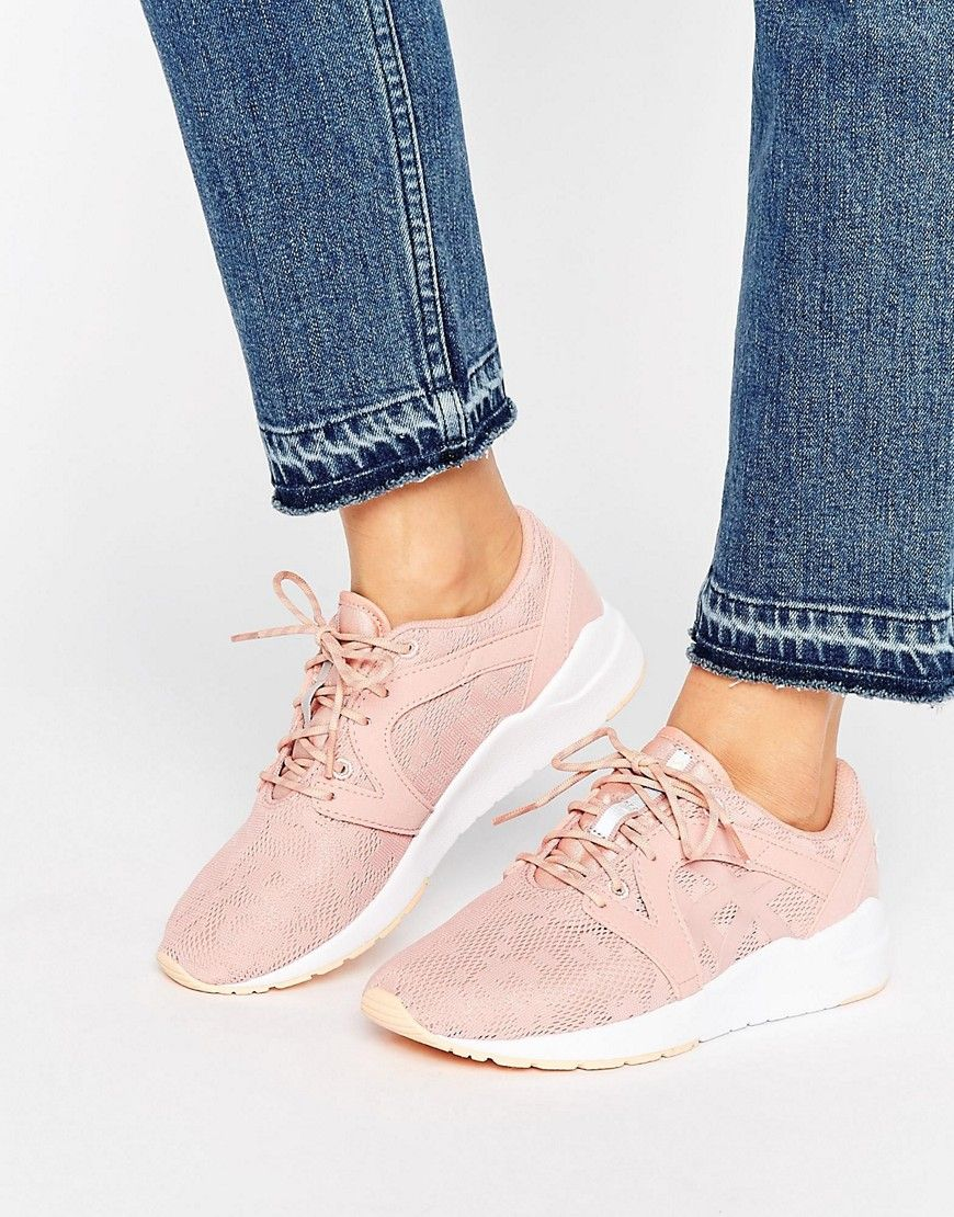 Women Asics Mesh Gel-Lyte Komachi Trainers Pink Outlet Genuine