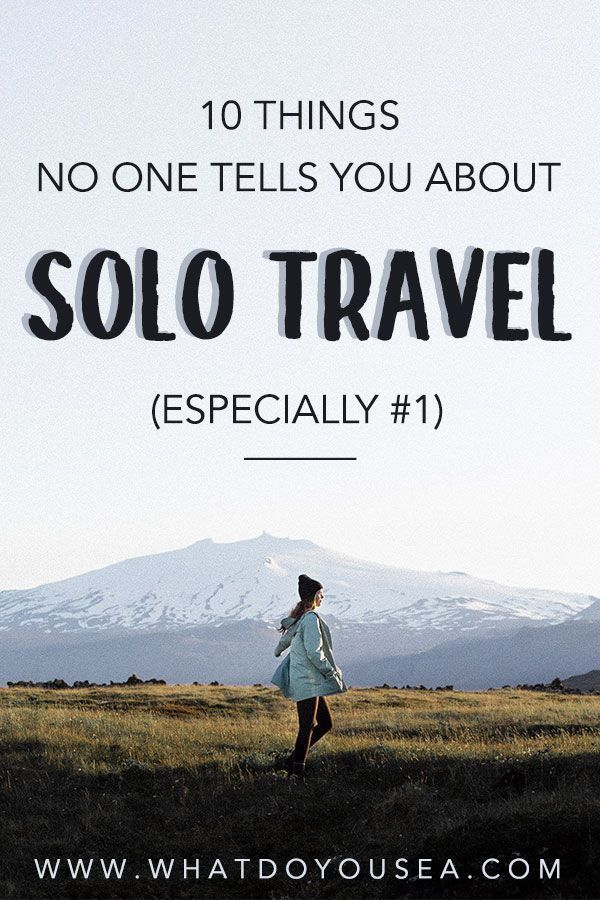 Solo female travel is one of the world's most liberating experiences, but there are a lot of realities about solo travel that nobody really talks about… No matter if you're taking on solo travel in the United States or other destinations, you are bound to experience at least one of the ten things on this list! These are 10 things that nobody tells you about solo traveling. #solotravel #solofemaletravel
