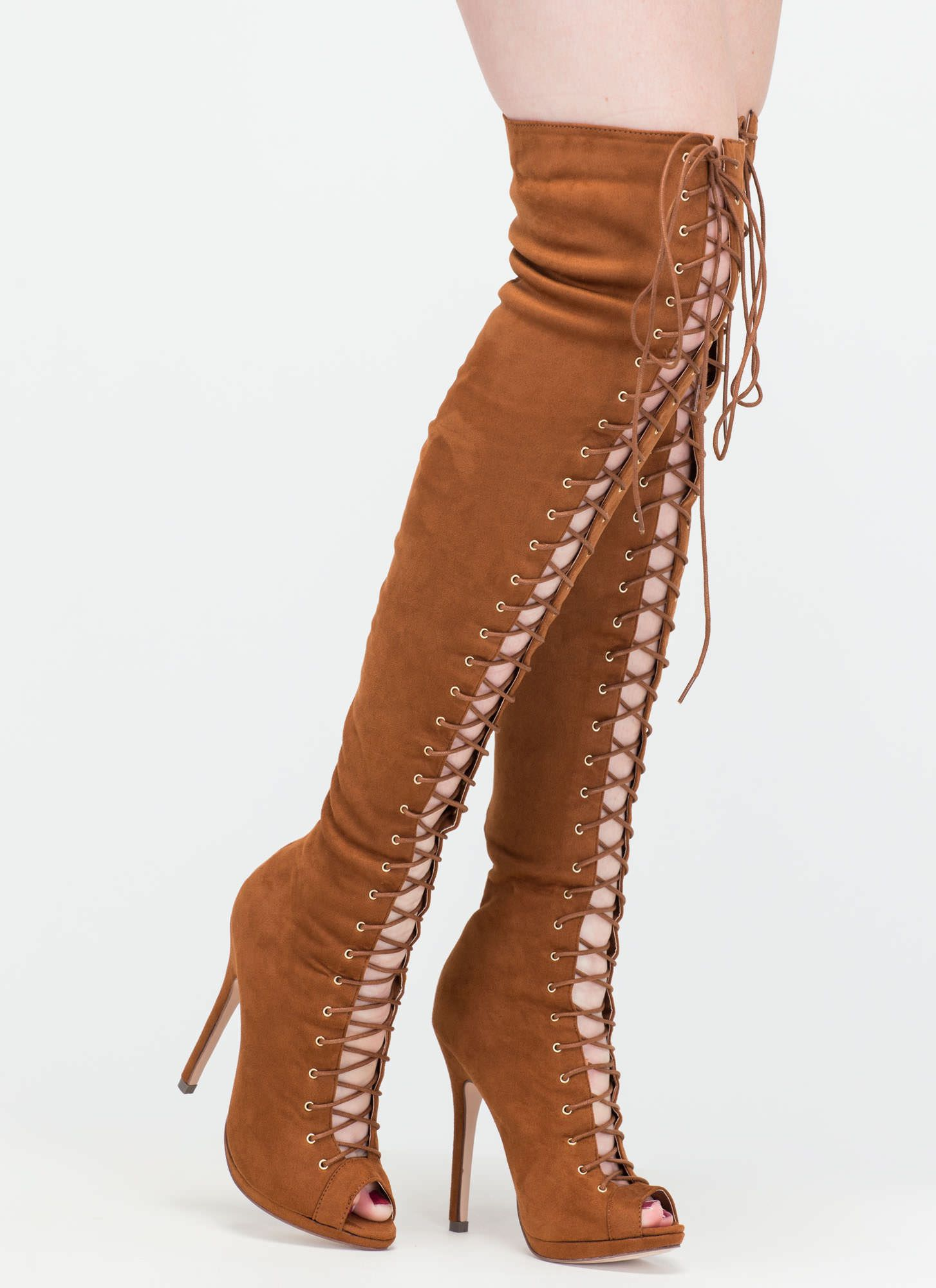 b93bced14a3 Revamp Faux Suede Over-The-Knee Boots GoJane.com