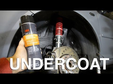 How To Undercoat Your Car Rust Prevention Youtube Rust Prevention Undercoat Prevention