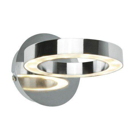 Applique A Fixer Circey Inspire Led 1 X 4 W Led Integree Chrome Luminaires Led Blanc Et Applique