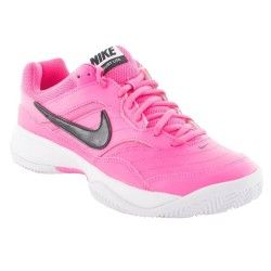 41d83fbcaa NIKE COURT LITE CLY-PINK WMNS   basket tandence   Sneakers nike ...