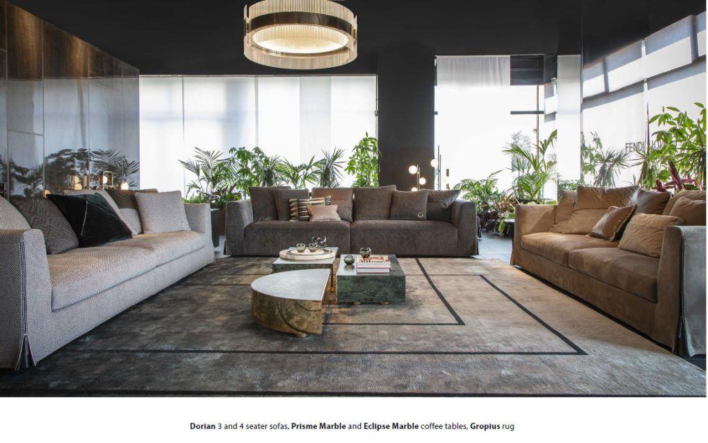 Fendi Casa 2018 Collection Luxury Furniture Furniture Fendi Casa Luxury Furniture