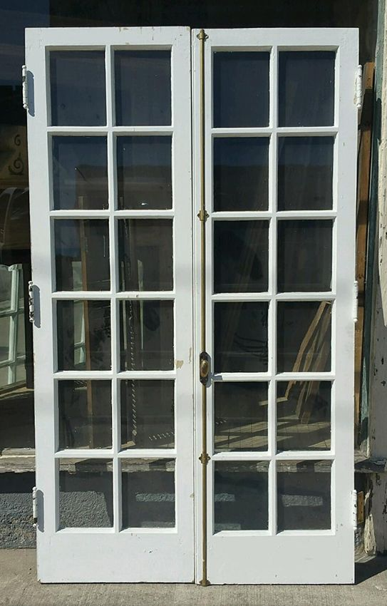 12 Pane French Doors From Nashville With Cremone Bolts And Brass Hinges.  Showroom Assistance: