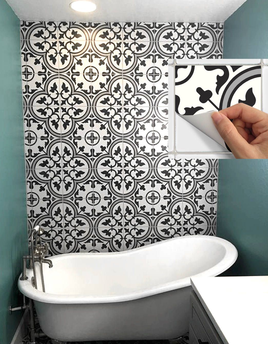 Tile Stickers Tile Picture Tile Stickers Sticker Bathroom Bath Kitchen Decoration
