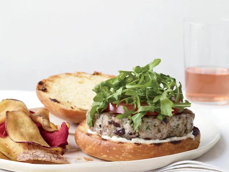 Photo of Tuna Niçoise Burgers