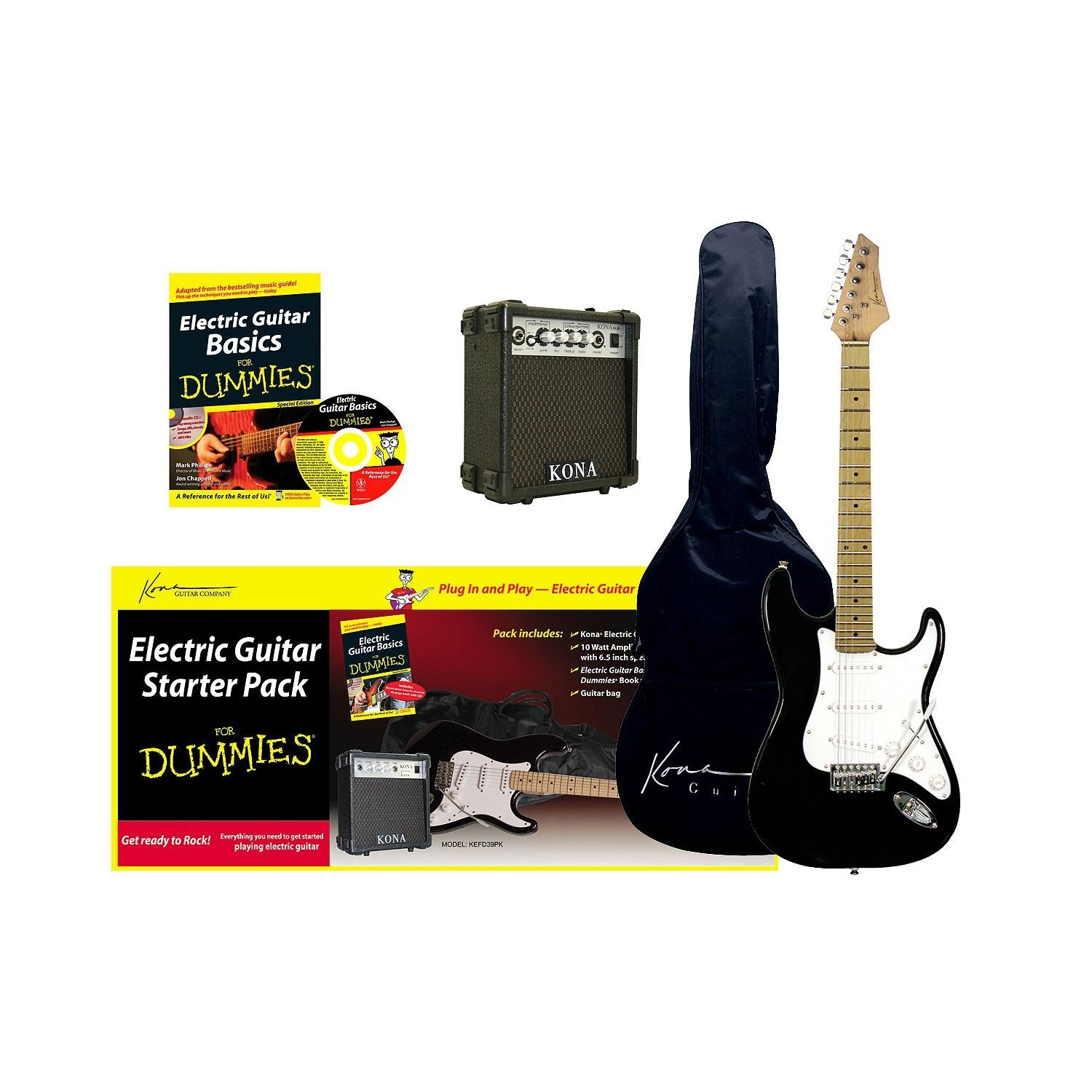 Electric Guitar For Dummies Starter Package