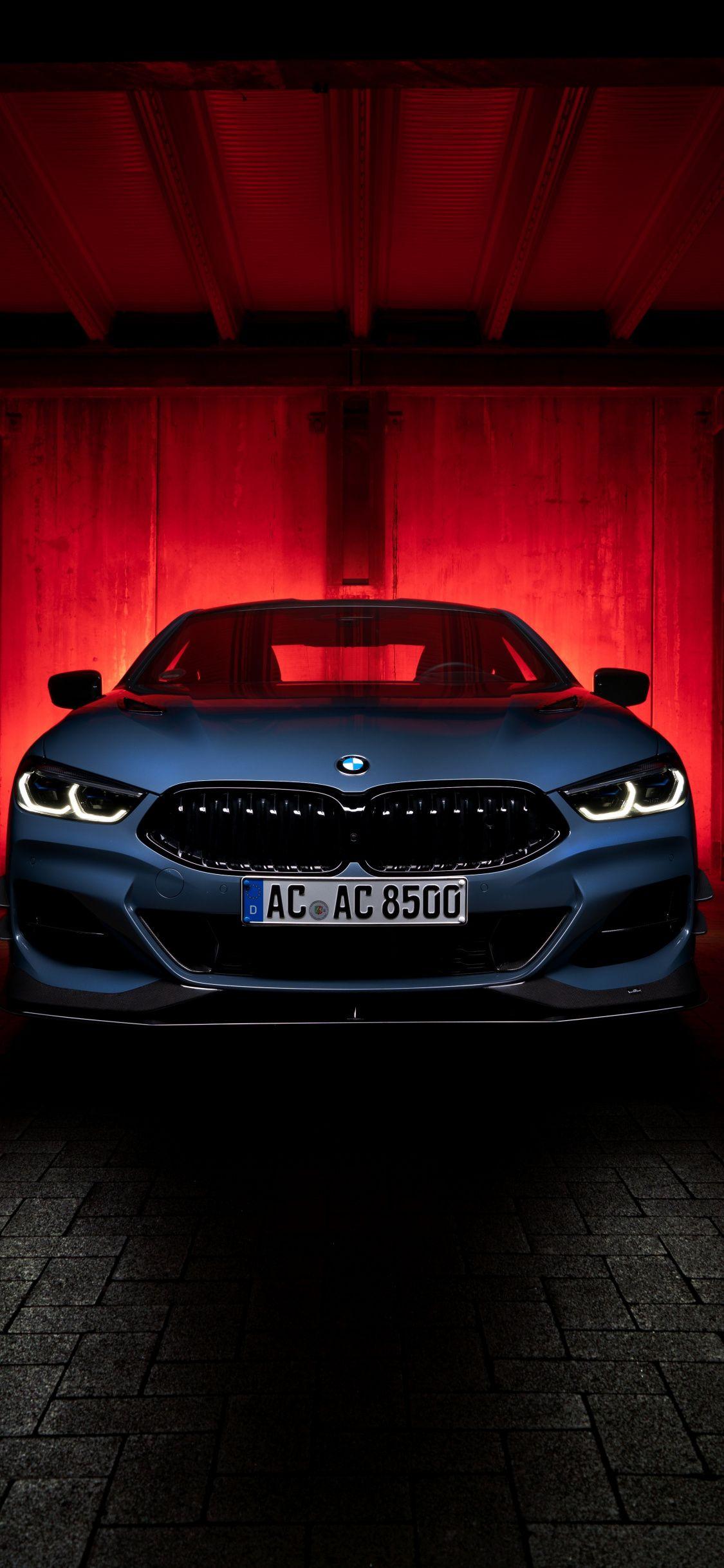 1125x2436 Bmw I8 Ac Schnitzer Acs8 Blue Front Wallpaper Bmw