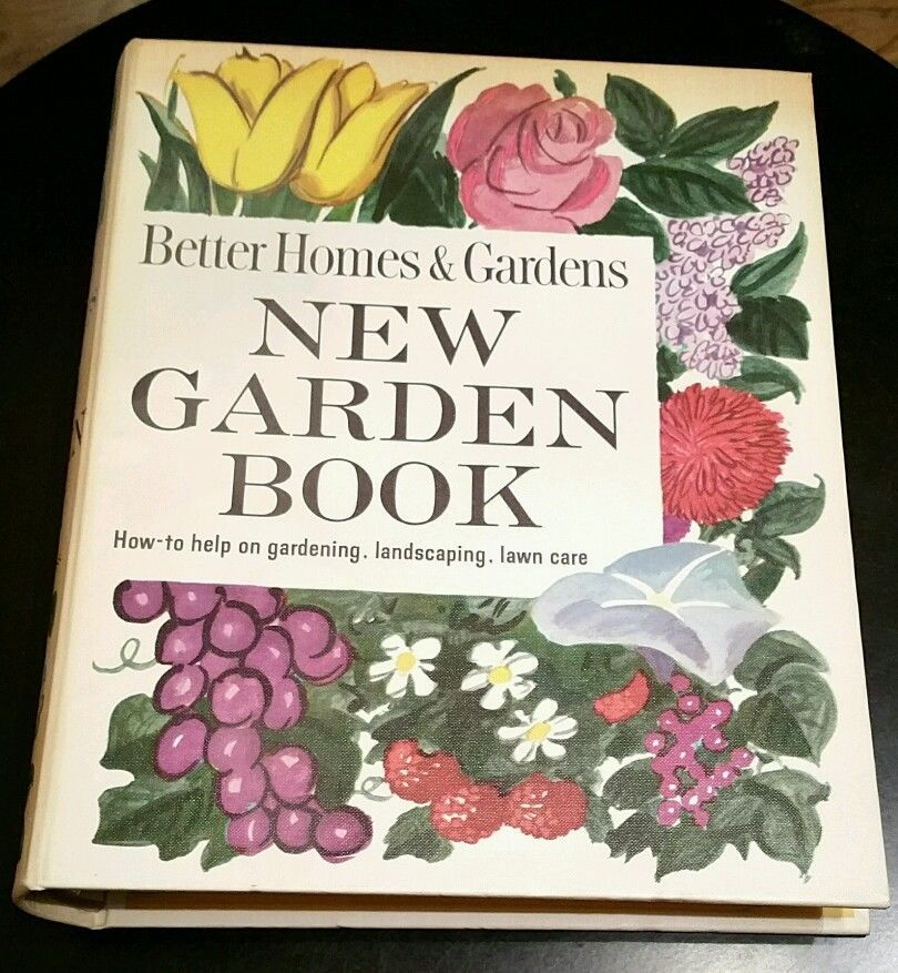Vintage Better Homes And Gardens New Garden Book 1961 Hc Landscaping Lawn Care Better Homes And Gardens Lawn Care Home And Garden