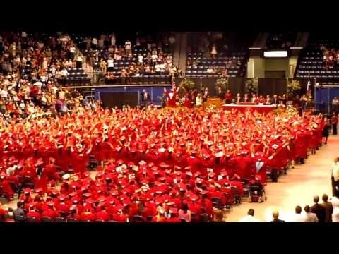 Sharyland High School 2011 Graduation Flash Mob- cute