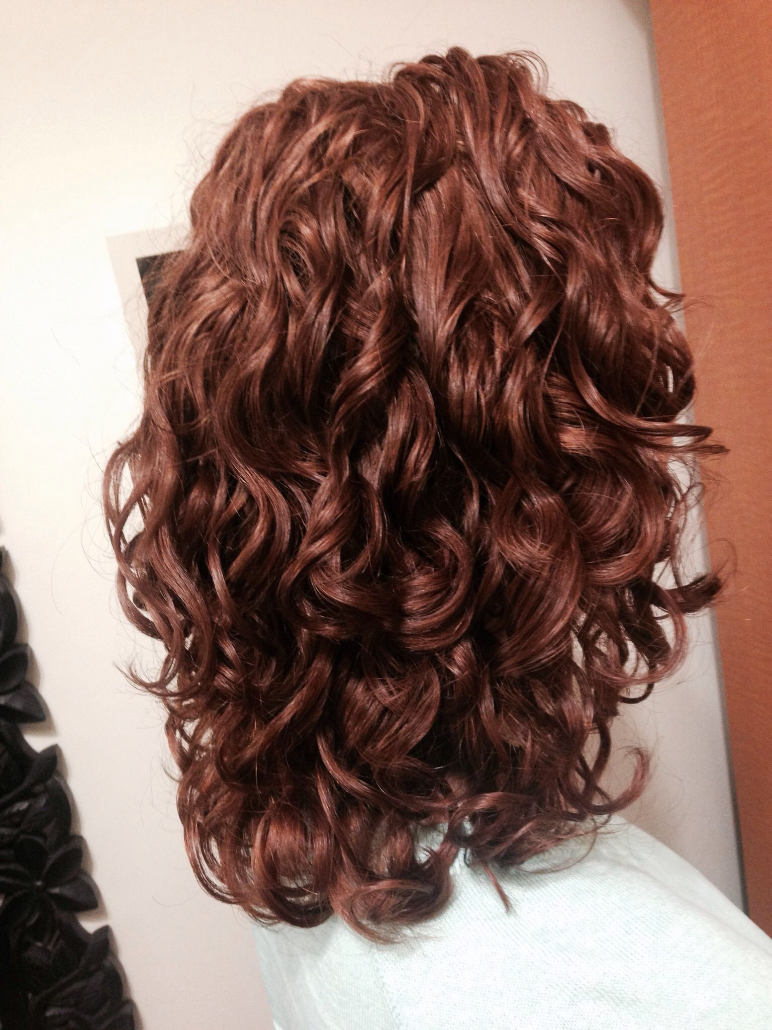 Pin By Ruth Anania On Hair Styles Curly Hair Styles Naturally Curly Hair Styles Dyed Curly Hair