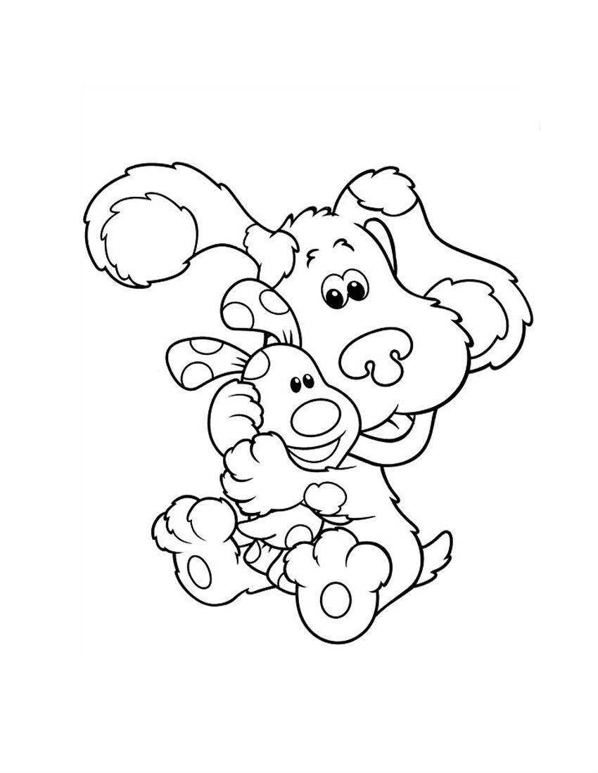 Blues Clues Hugging Children | Blue\'s clues Coloring Pages | Pinterest