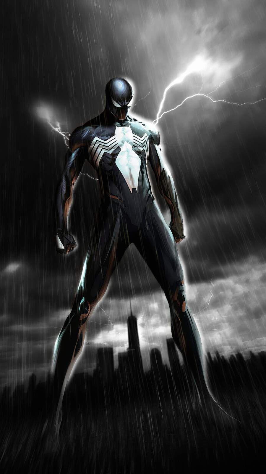 Venom Spiderman Iphone Wallpaper Venom Spiderman Symbiote Spiderman Marvel Comics Wallpaper